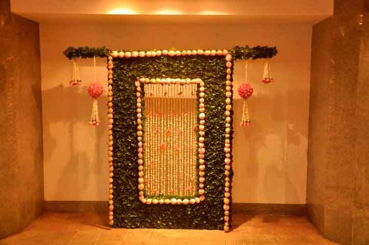 Ambani Patotsav – Ambani house flower decoration – Spree Designs
