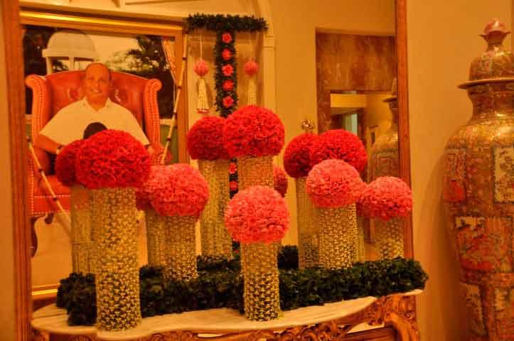 Ambani Patotsav – Ambani house decoration with Flowers – Spree Designs