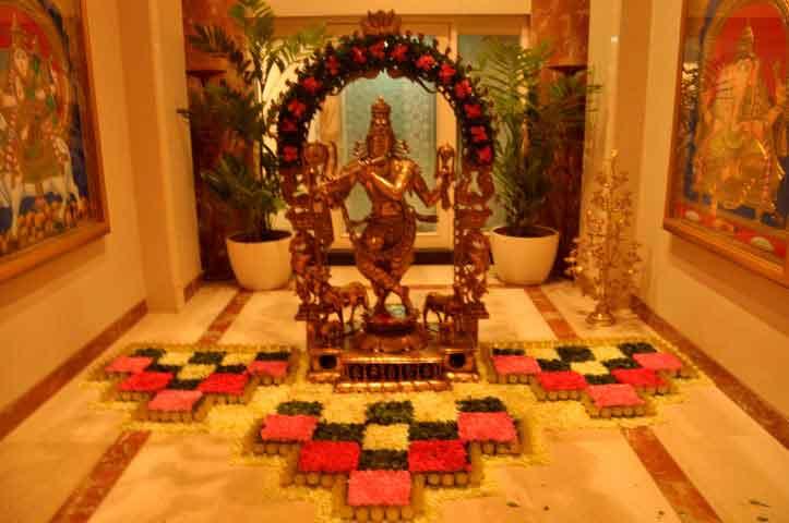 Ambani Patotsav – Ambani Pooja flower decoration – Spree Designs