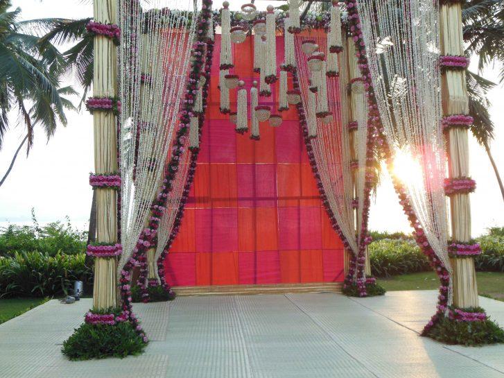 Chhajer Wedding Stage decoration Goa – Spree Designs