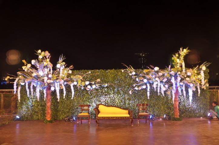 Dayal Floral Reception decoration – Spree Designs