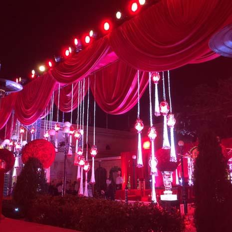 Anu Mahtani & Sanjay Hinduja's wedding. Manek Chowk & Zenana Mahal, Udaipur